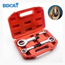 BDCAT 4pcs/set 9-27MM Sliding Tooth Nut Remove Broken nut Manually Metal Break Manual Pressure Tools