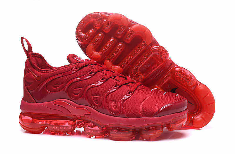 519eacbf061 Original NIKE Air VaporMax TN Vessel Plus Men s Breathable Outdoor Running  Shoes Male Cross-Country