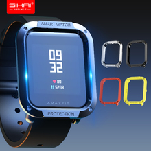 SIKAI Tough Armor Protective Case Cover for Amazfit Bip Youth Watch protector for Xiaomi Huami Amazfit Bip Lite Youth Watch Case new huami amazfit watch frame pc case cover for xiaomi amazfit bip pace lite youth watch protection shell