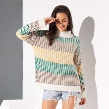 Boho Winter Turtleneck Travel Beach Elegant Sweaters Women Casual Loose Thick Fall 2019 Vintage Female Office Ladies Yellow Tops
