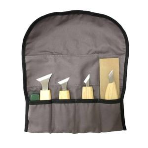 Image 5 - Набор ручных инструментов для резьбы по дереву, 7 шт., инструменты для резьбы по дереву DIY, ножи с чипом, ручной инструмент для дерева, набор для резьбы по дереву