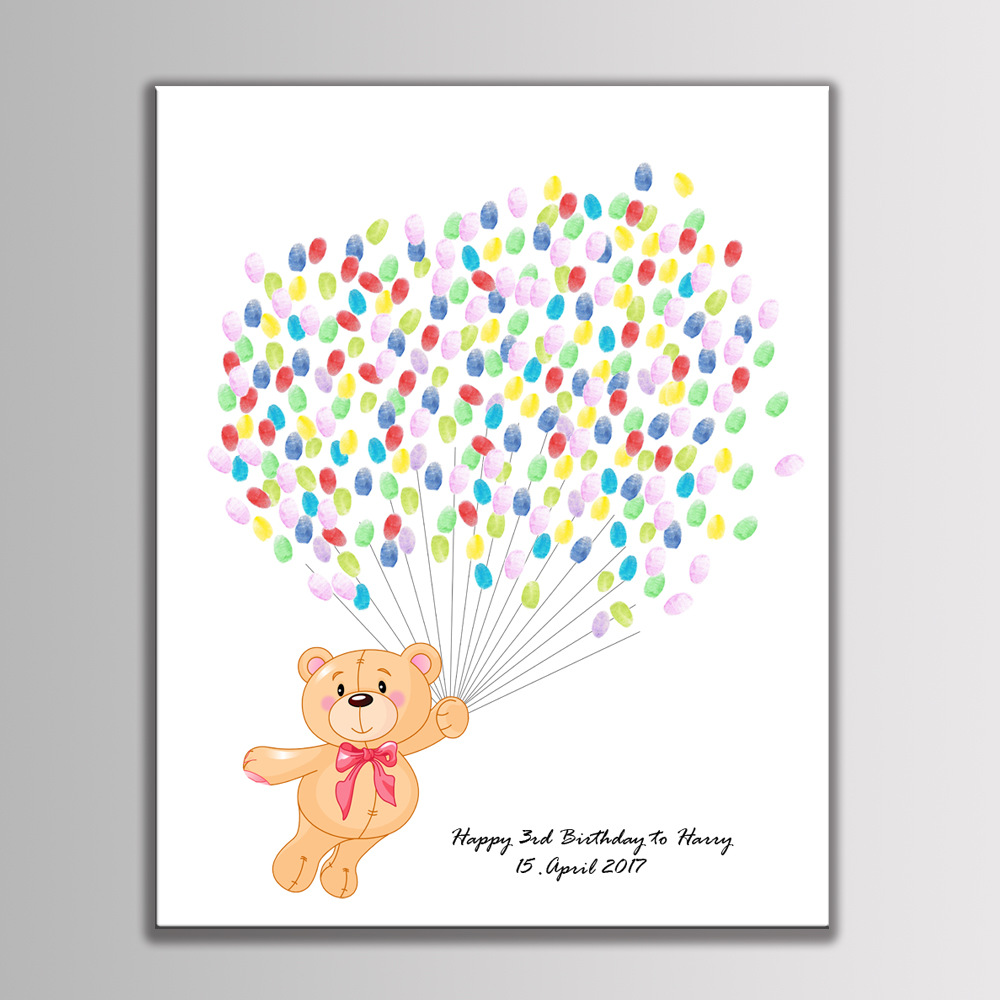 Creative Gifts Customized Cute Cartoon Fingerprint