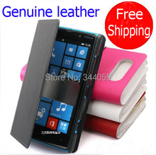 100% Genuine Leather Holster For Nokia Lumia 820 Case Cover For Nokia 820 Protective Case Free Shipping
