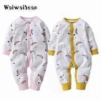 Newbron manga longa macacão de bebê conjunto bebê meninas do bebê menina macacão roupa bebê menino roupas garantia qualidade