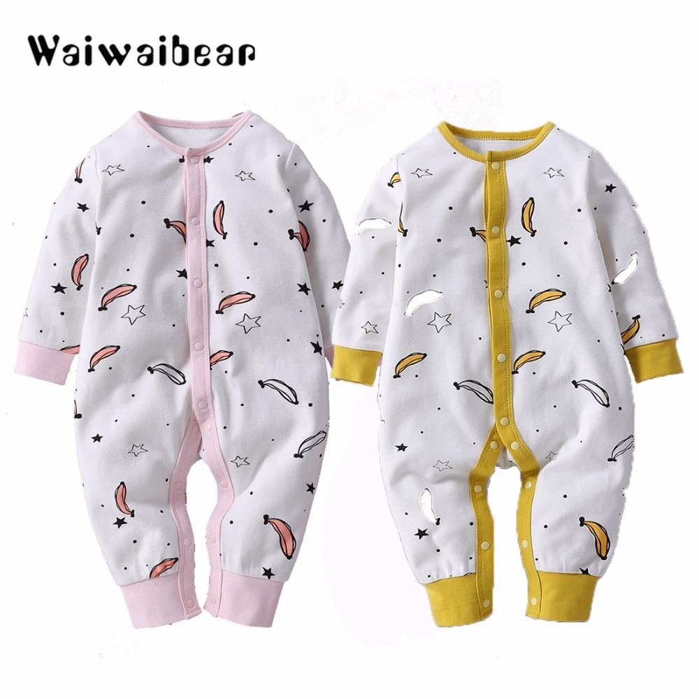 Newbron Long Sleeve Baby   Rompers   Set Baby Jumpsuit Girls Baby Girl   Romper   Roupa Baby Boy Clothes Quality Assurance