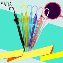 YADA Hight Quality Automatic Umbrella For Women Men Anti-UV New Portable Transparent Clear Rain Wedding Parasol YS311