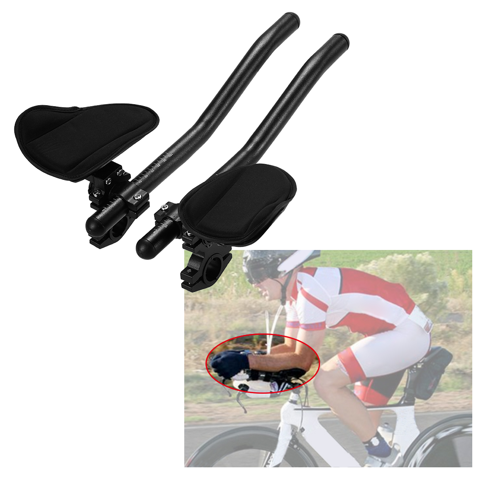 MTB Bike Bicycle Rest Handlebar Relaxation Handle Triathlon Road Arm Rest Bar