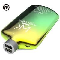 WK Power Bank 10000mAh 2 USB Portable Charging Bateria Externa Movil Poverbank 10000mAh for PowerBank 18650 Xiaomi iPhone Huawei