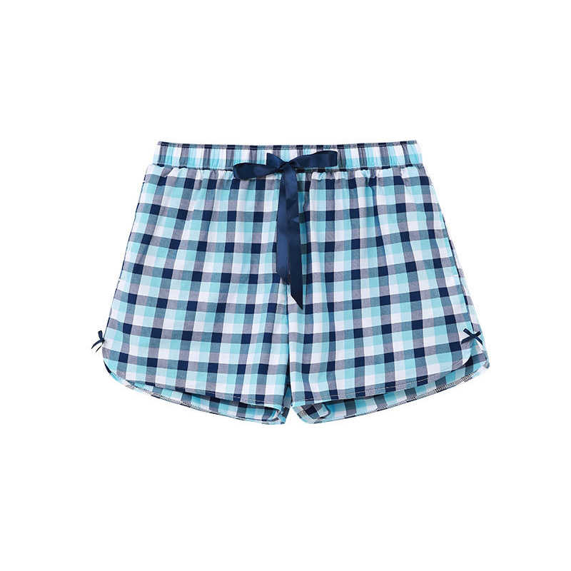 8d323d20fa8d ORIGINAL CILER Women Sleepwear Summer Print 100% Cotton Pajama Shorts Women  Loose Sleepwear Bottoms