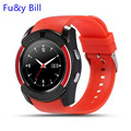 Smart Watch V8 Wristwatch Support Sim TF Card Slot Bluetooth Sport Clock with 0.3M Camera MTK6261D Smartwatch for Android Phone