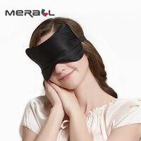 Шелковый глаз повязка на глаза для сна маска Регулируемая длина eyemask Спящая помощи для отдыха мягкая гладкая наручники для мужчин и женщин