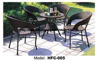Цена по прейскуранту завода, современный дизайн для использования вне помещений набор садовой мебели 60 см ротанговый стол 4 стула и активно