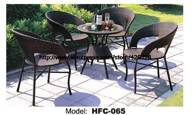 Factory Price Modern Design Outdoor Furniture Garden Set 60CM Rattan Table 4 Chairs Leisure Outdoor balcony courtyard furniture kindergarten school furniture school furniture price list kids wholesale price with free shipment 50 chairs to vietnam