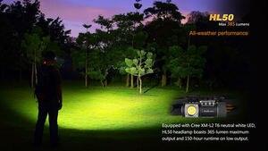 Image 5 - משלוח חינם FENIX HL50 מנצל Cree XM L2 T6 ניטראלי לבן LED 365 lumens רב תכליתי פנס