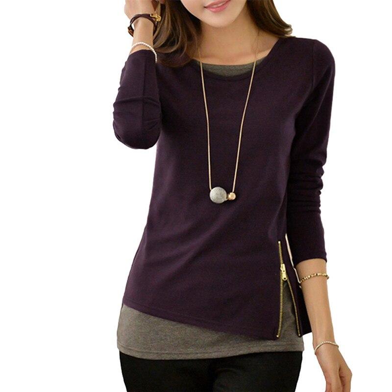Women  Kpop Pullovers Zippers Tops Plus Size 5XL Hoodies Sweatshirts 2018 Casual Long Sleeve Moletom Feminina Felpe Donna