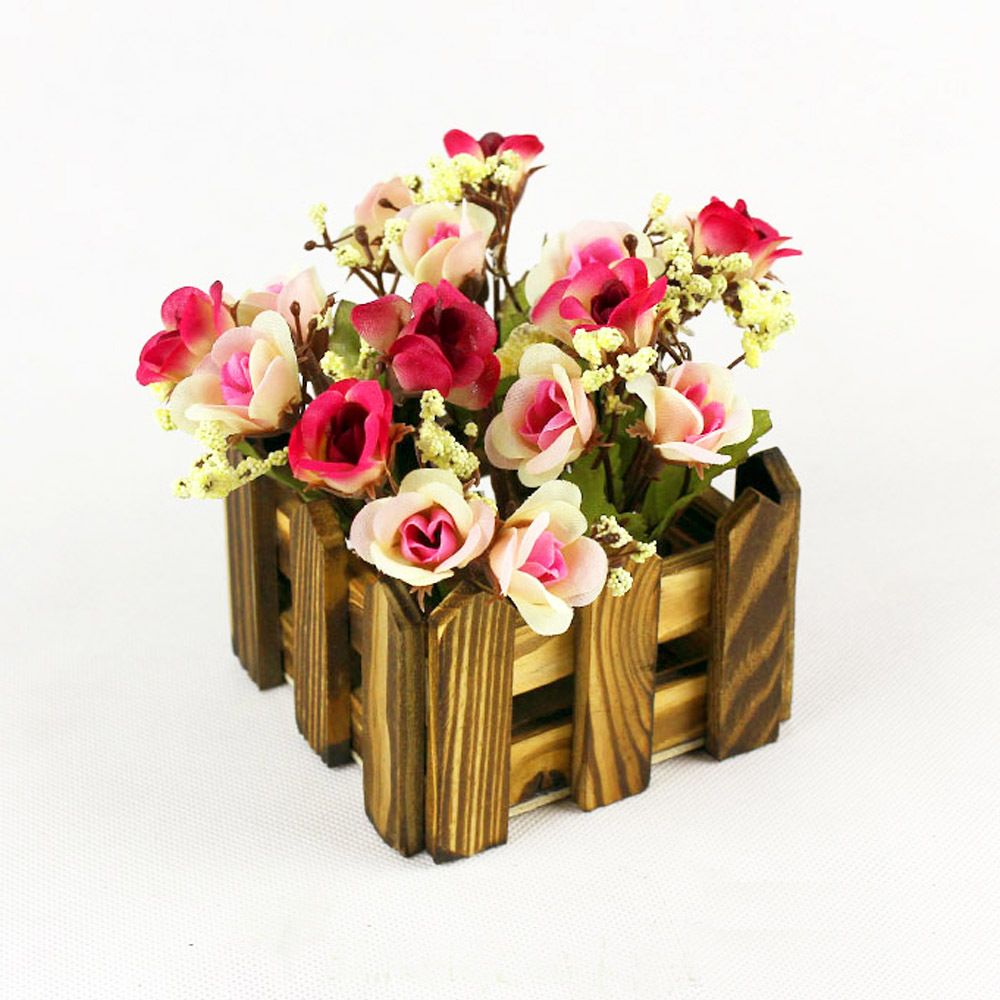 Mastone vintage wood pot flower vases planter wooden storage box mastone vintage wood pot flower vases planter wooden storage box storage basket wooden in vases from home garden on aliexpress alibaba group floridaeventfo Images
