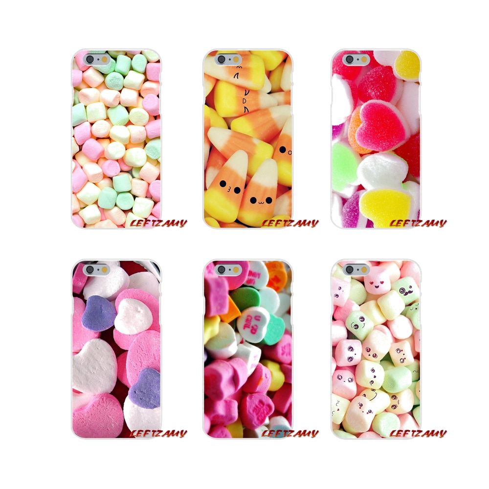 Cute Marshmallow Lovely Candy For Huawei P Smart Mate Y6 Pro P8 P9 P10 Nova P20 Lite Pro Mini 2017 Transparent Soft Shell Covers