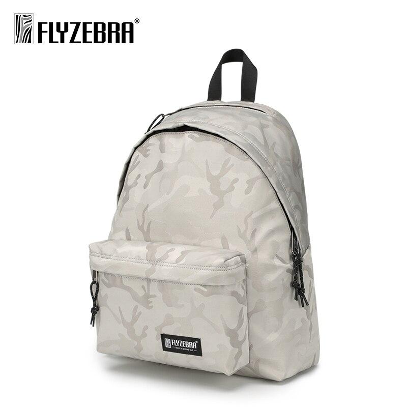 Camouflage Backpack Laptop Bag 14 Inch Fashion Travel Bag Campus Wind Student Bag Nylon Men's Backpack