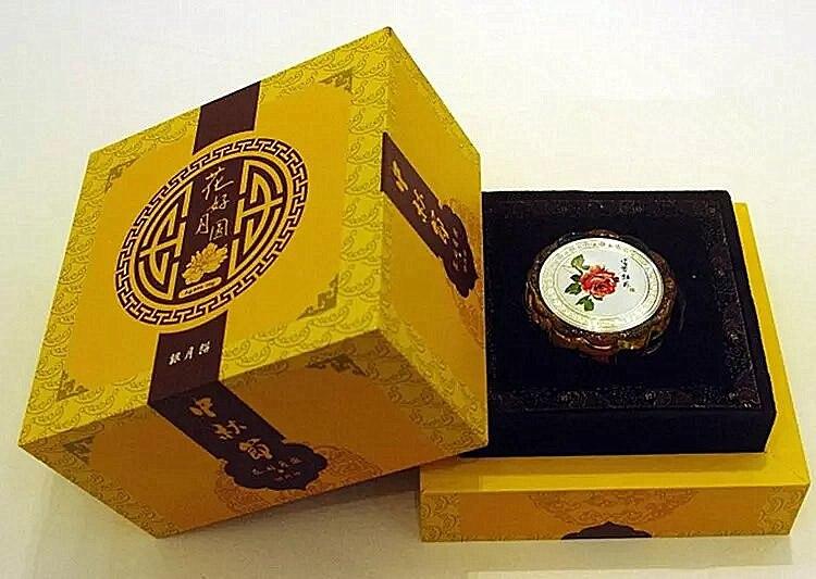 10g 999 argent pur pièce mi-automne Festival lune gâteau argent bijoux art investissement, collection, cadeaux avec boîte et certificat