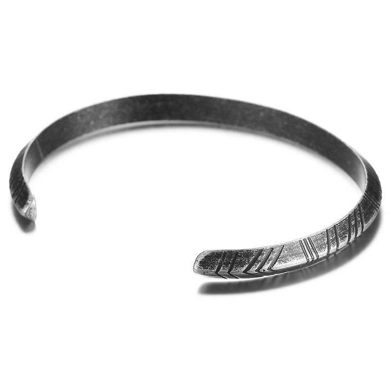 Meaeguet Vintage Totem Style Viking Bracelet & Bangle Stainless Steel Bracelets For Women Men Pulseras Hombre Jewelry (7)