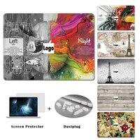 YCSTICKER-Hot Laptop Superiore Autoadesivo della Decalcomania Del Vinile Sinistra Destra Del Cervello Pittura Skin Per Macbook Air Pro Retina Pro 11 12 13 15 e regalo