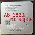 Бесплатная доставка A8-3820 A8 3820 (2.5 ГГц/4 МБ/4 ядра/Socket FM1/905-pin) AD3820OJZ43GX Quad-Core processor