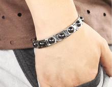 Therapeutic Magnetic Bracelet with Hematite Beads