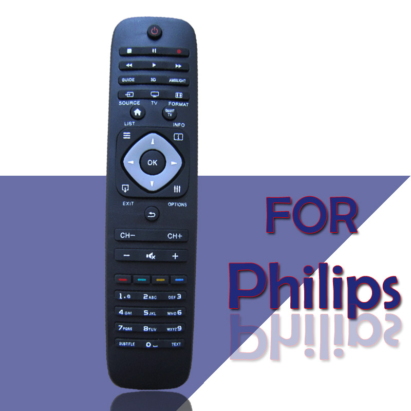1pcs Free Shipping Smart TV Remote Control For PHILIPS Parts 55 / 65PFL7730 8730 9340 Series Remote Controller