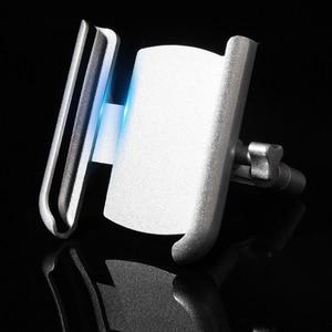 Image 4 - Universal Aluminum Alloy Motorcycle Phone Holder Support Telephone Moto Holder For GPS Bike Handlebar Holder For iPhone Android