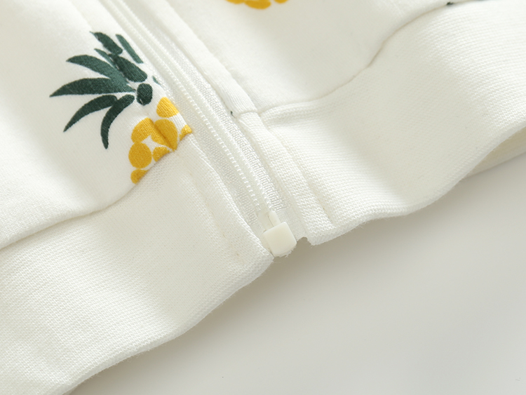 Cotton-Pineapple-Printed-ChildrenS-Clothing-Hooded-Sweatershirt-3-Months-2-Year-3