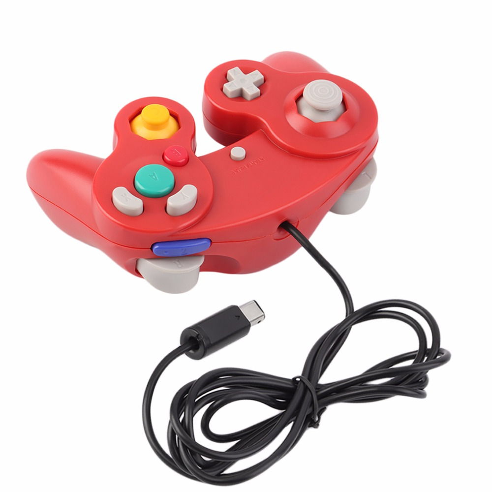 2017 Plastic Sensitive Wired Game Controller Pad Joystick for Nintendo Game or for Wii Professional Gaming Gamer Controller
