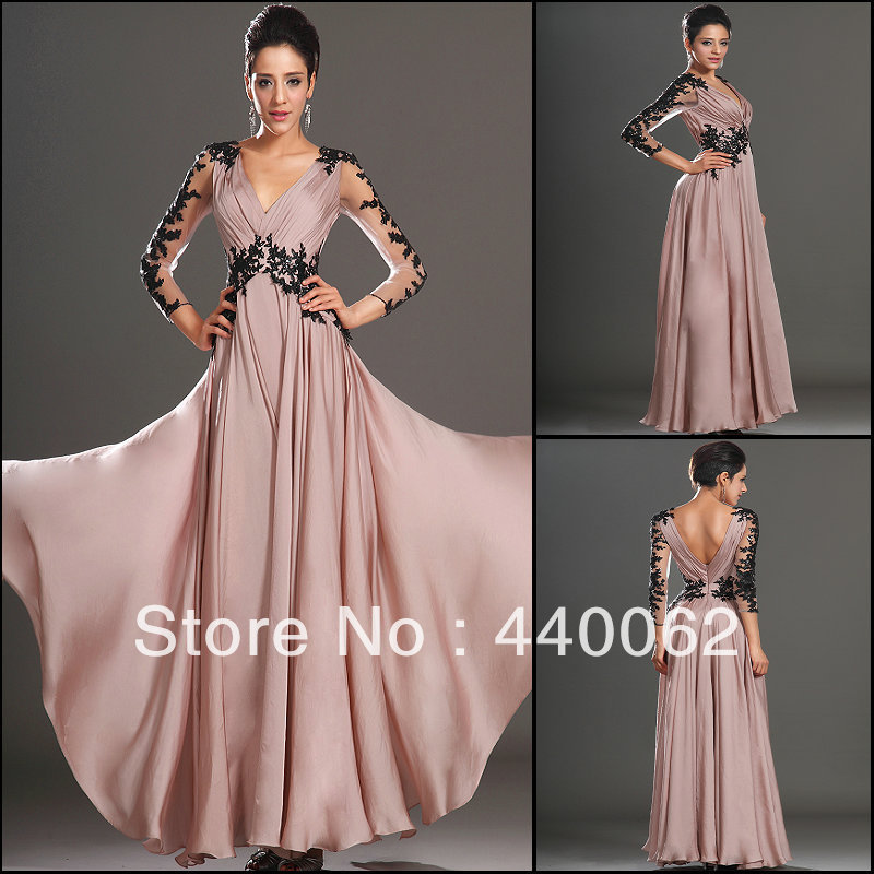 Nude Sheer Prom Dress