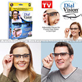 Adjustable Glasses FREE SHIPPING hot Adjustable Dial Eye Glasses Vision Reader Glasses bottle as see n on TV with the package