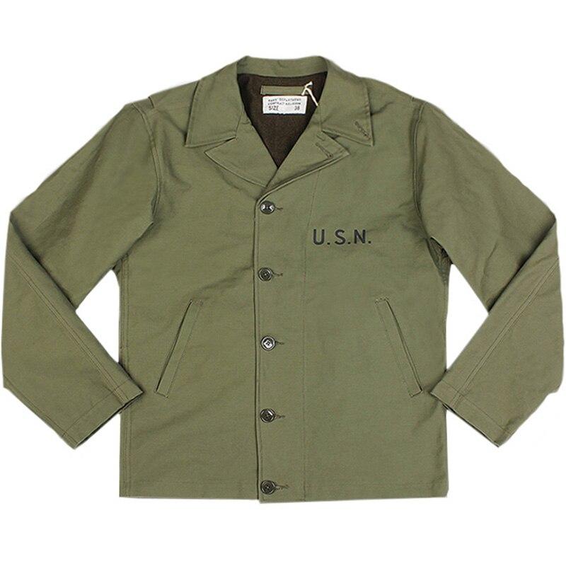 Uniform Shirt Jacket VTG USA Name Patch Robert