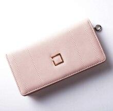 High Capacity Fashion Women Wallets Zipper Retro PU Leather Wallet Female Clutch Coin Purse Famous Brand Ladies Money Bag