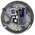 5050 RGB LED Strip Light IP65 Waterproof DC12V 5 meters 60led/m LED Flexible Light Strip with 44Keys remote controller