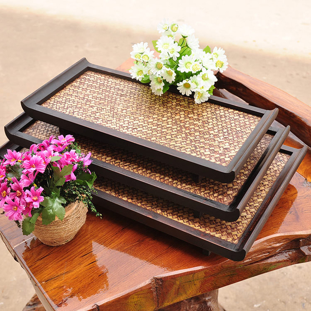 Classic Bamboo Serving Tray