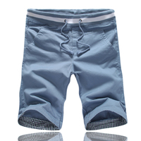 10 Summer Male Casual Pants Casual Pants Slim Knee Length Male Shorts Male K08 P25