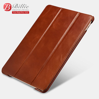 Retro Cowhide Genuine Leather Case For New IPad Pro 10 5 2017 Slim Business Foldable Stand