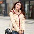 women coat new 2016 autumn and winter jacket women slim short cotton-padded jacket outerwear winter coat women plus size