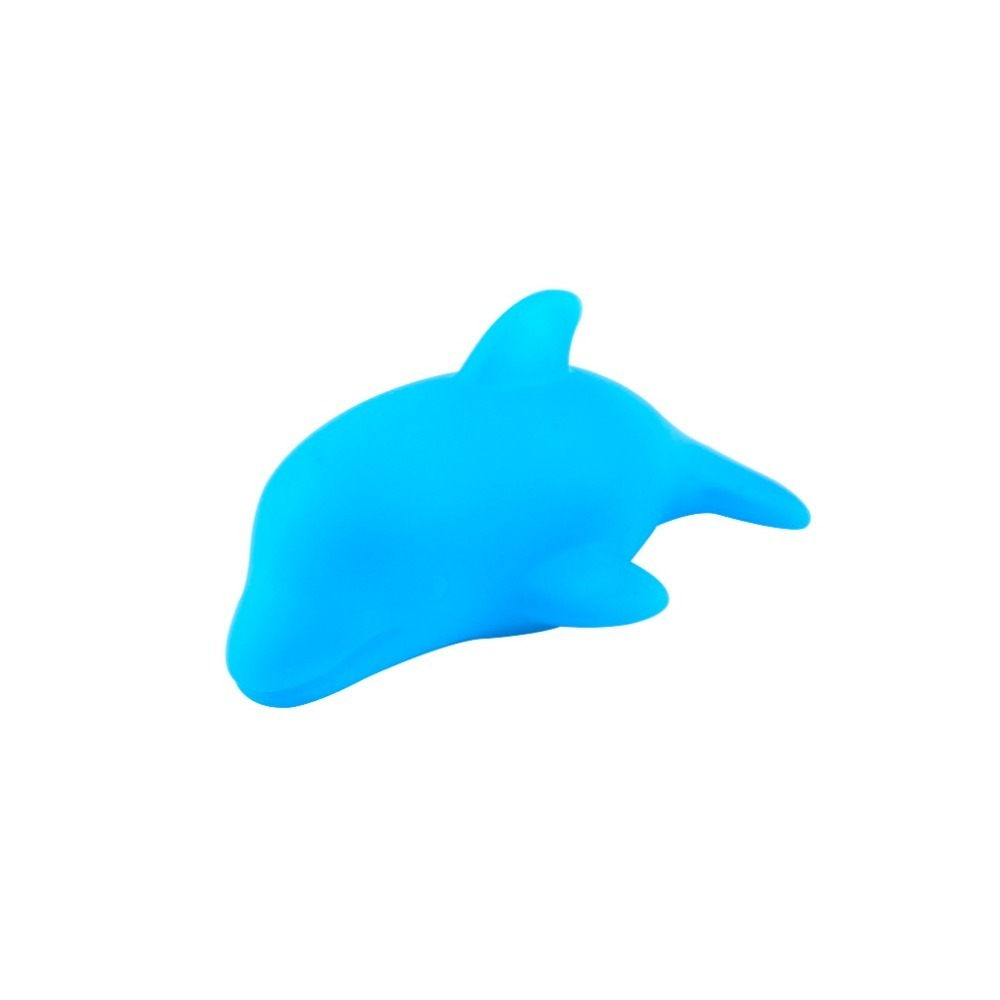 Fashion 3D Led Night Light Dolphin Lamps Cartoon Cute Baby Bath Toy Creative Flashing Table Lamp Bathig Toys for Children Gifts