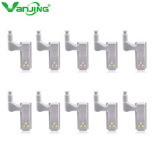 10pcs LED Cabinet Light Motion Sensor Under Cabinet Lights For Kitchen Bedroom Wireless Wardrobe Closet Light Night Lamp(China)