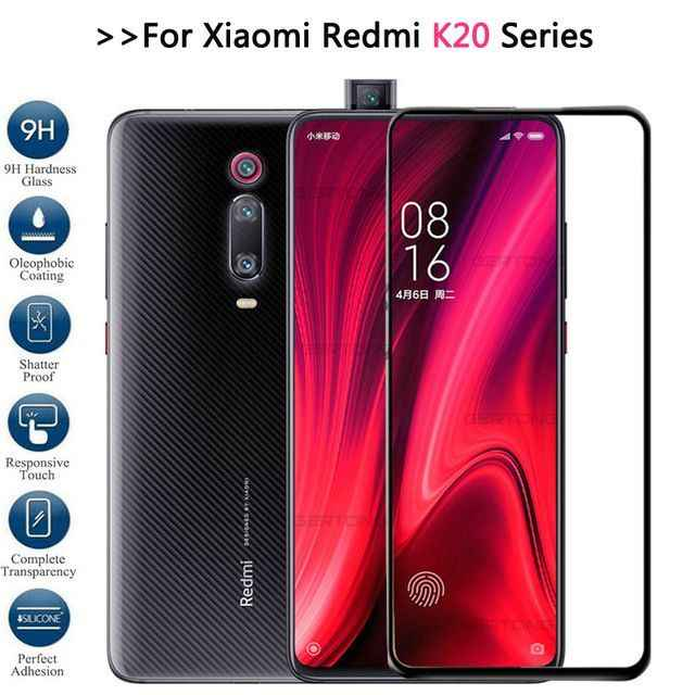 3D Complete millet for xiaomi redmi K20 glass protection mi 9 T Pro screen protector mi K 20 Pro K20Pro 6.39 inch tempered glass