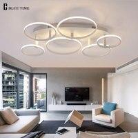 New Minimalist Modern Led Ceiling Lights For Living Room Bedroom Dining Room Lamp AC85 265V Simple