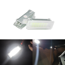 2 шт. 18-SMD светодиодная подсветка сигнальная лампа для открытой автомобильной двери с Чемодан ниши Шаг Добро пожаловать Свет для BMW E60 E70 E71 E90 E91 E92 F01 X5 F10 F11