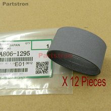 12Pieces  ADF Feed Belt A806-1295 (A680-1241) Fit For Ricoh MP4000 4000B 5000 5000B 4001G 4002 5001G 5002 цена