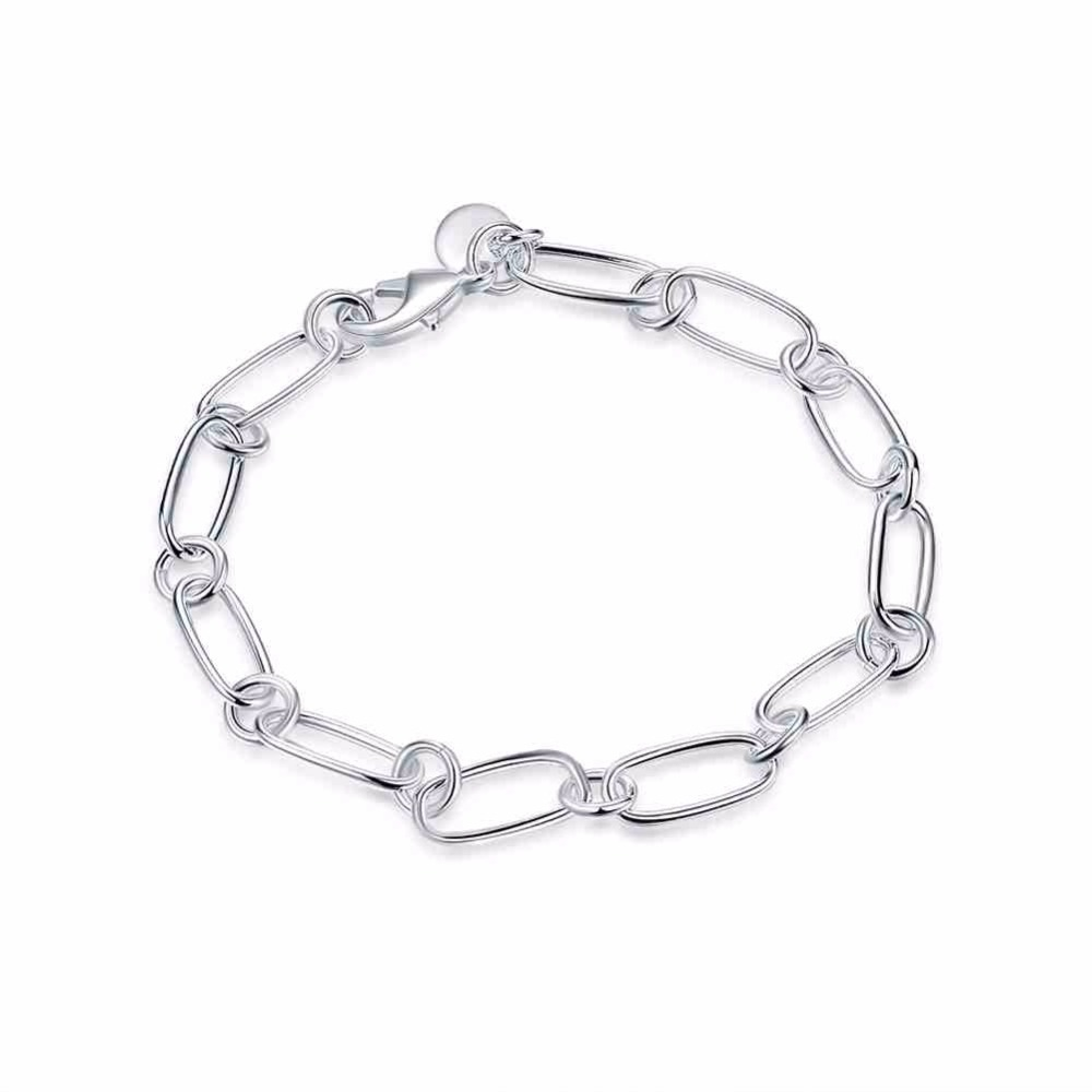 CHB2 for kim hot sell product send with dust bag women silver bracelet summer gift
