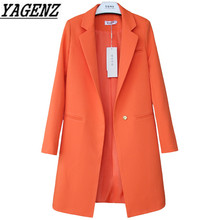 White Black Women Blazers And Jackets Plus Size 2020 Spring Autumn Solid Female