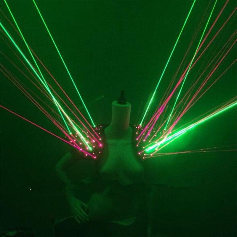 Dizajni i ri me ngjyrë të gjelbër me lazer të kuq lazer Laserman - Furnizimet e partisë - Foto 2