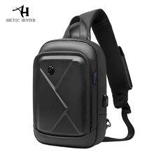 ARCTIC HUNTER New men's chest bag shoulder bag casual Messenger bag youth business travel large capacity multi-function bag